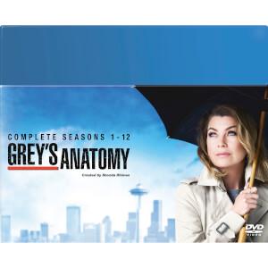 Grey's Anatomy Season 1-12 Boxset