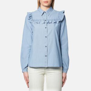 A.P.C. Women's Memphis Shirt - Indigo Delave