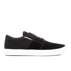 Supra Men's Stacks Vulc II Trainers - Black/White