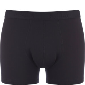 Lot de 2 Boxers Puma Colour Block - Gris / Noir