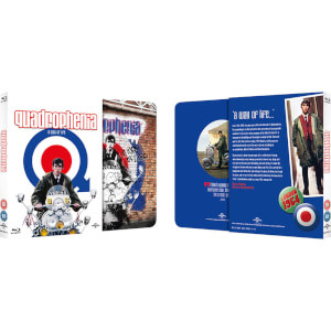 Quadrophenia - Zavvi UK Exclusive Limited Edition Slipcase Steelbook (Limited to 2000 Copies)