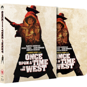 Once Upon a Time in the West - Zavvi Exclusive Limited Edition Slipcase Steelbook (Limited to 2000 Copies)