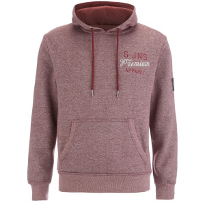 Smith & Jones Men's Aeolic Hoody - Tawny Port Marl