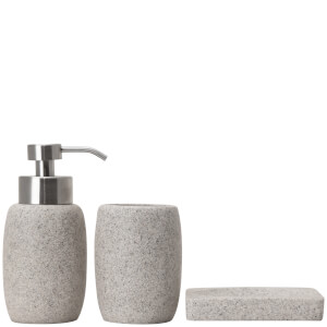 Sorema Rock Bathroom Accessories (Set of 3)