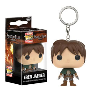Attack on Titan Eren Jaeger Pocket Funko Pop! Keychain