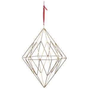 Nkuku Talini Diamond Christmas Decoration