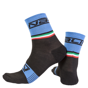 Nalini Salita Socks - Black/Blue
