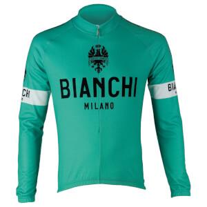 Bianchi Leggenda Long Sleeve Jersey - Green