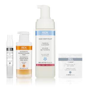 REN Exclusive Complete Cleansing Collection (Worth $54.56)