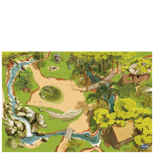 Papo Wild Animal Kingdom: Jungle Playmat