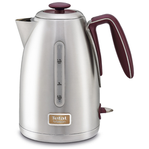 Tefal Maison KI2605UK Stainless Steel Kettle - Pomegranate Red