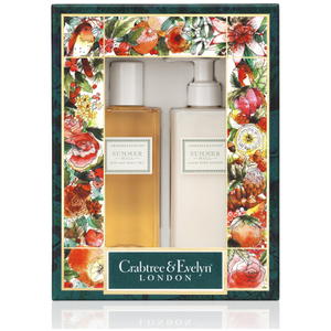 CRABTREE & EVELYN SUMMER HILL BODY CARE DUO