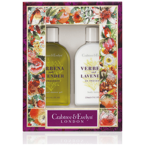 Crabtree & Evelyn Verbena & Lavender Body Care Duo (Worth £31.00)