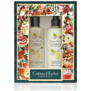 CRABTREE & EVELYN CITRON BODY CARE DUO
