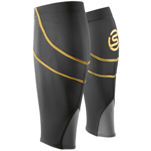 Skins Essentials Calf Tights MX - Black/Yellow