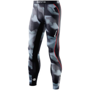 Skins DNAmic Men's Long Tights - Glitch Camo