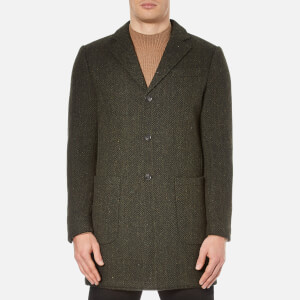 Selected Homme Men's One Trade Coat - Dark Green