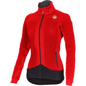 Castelli Women's Elemento 2 7X(Air)Jacket - Red