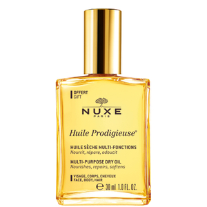 Nuxe Huile Prodigieuse Dry Oil Spray 30ml Free Gift