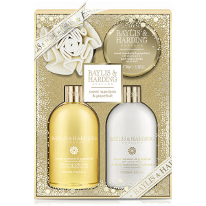 Baylis & Harding Sweet Mandarin & Grapefruit 4 Piece Bath Gift Set