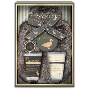 Baylis & Harding Fuzzy Duck Black Pepper & Sage 3 Piece Hot Water Bottle Cover Gift Set