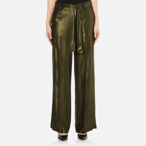 Gestuz Women's Ena Pants - Gold