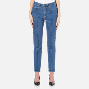 Gestuz Women's Cecily Jeans - Medium Blue