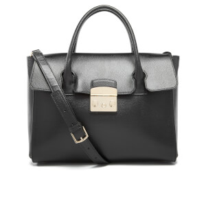 Furla Women's Metropolis Medium Satchel - Onyx