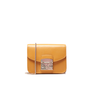 Furla Women's Metropolis Mini Cross Body Bag - Zafferano