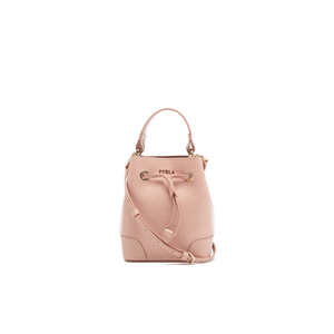 Furla Women's Stacy Mini Drawstring Bucket Bag - Moonstone