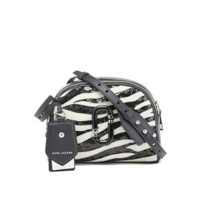 Marc Jacobs Women's Shutter Zebra Shoulder Cross Body Bag - Dove Multi