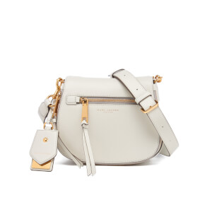 Marc Jacobs Women's Recruit Small Nomad Leather Shoulder Cross Body Bag - Dove