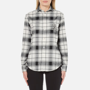 Polo Ralph Lauren Women's Sequin Crest Shirt - Winter/Dark Night
