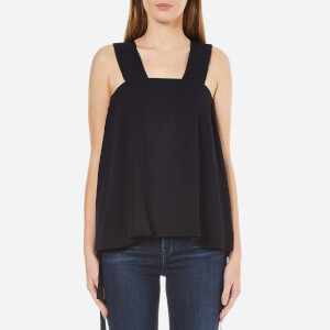 Helmut Lang Women's Side Tie Top - Navy
