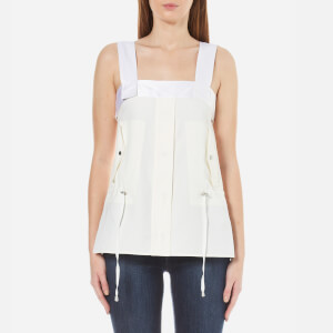 Helmut Lang Women's Parka Tank Top - Off White