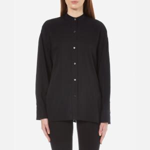 Helmut Lang Women's Back Overlap Shirt - Black