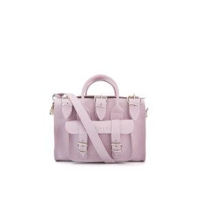 Grafea Women's Baby Luna Leather Shoulder Bag - Lavender
