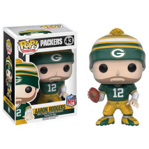 Figurine Pop! NFL Aaron Rodgers 3ème Vague