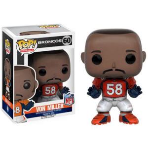Figurine NFL Von Miller 3ème Vague Funko Pop!