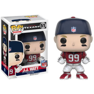Figurine NFL J.J. Watt 3ème Vague Funko Pop!