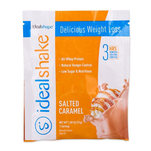 IdealShake Salted Caramel Sample