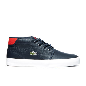 Lacoste Men's Ampthill Chunky SPM Hi-Top Trainers - Dark Blue/Dark Blue