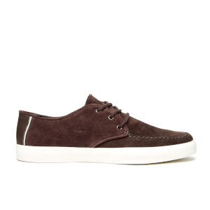 Lacoste Men's Sevrin 116 1 Cam Boat Shoes - Dark Brown