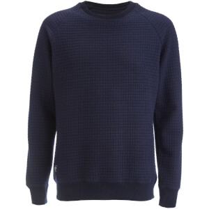 Threadbare Men's Clarklen Crew Neck Sweatshirt - Navy
