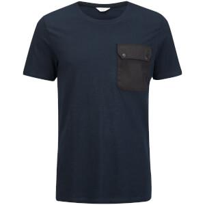 Jack & Jones Men's Core Mule Pocket T-Shirt - Navy Blazer