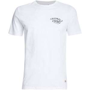T-Shirt Homme Originals Lights Jack & Jones -Blanc