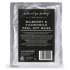 Natural Spa Factory Bilberry and Chamomile Peel-Off Face Mask
