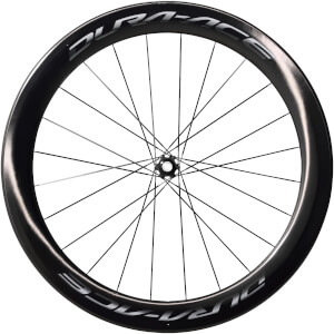 Shimano Dura Ace R9170 C60 Carbon Tubular Front Wheel - 12 x 100mm Thru Axle - Centre Lock Disc