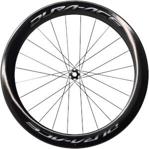 Shimano Dura Ace R9170 C60 Carbon Tubular Front Wheel - 12 x 100mm Thru Axle - Centre Lock Disc