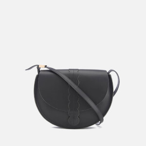 Clare V. Women's Scalloped Luce Cross Body Bag - Black